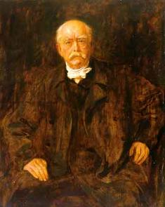 """Iron Chancellor"" Otto von Bismarck of Germany"
