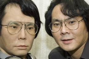 Dr. Ishiguro and his double. Not necessarily in that order. © EnGadget.com