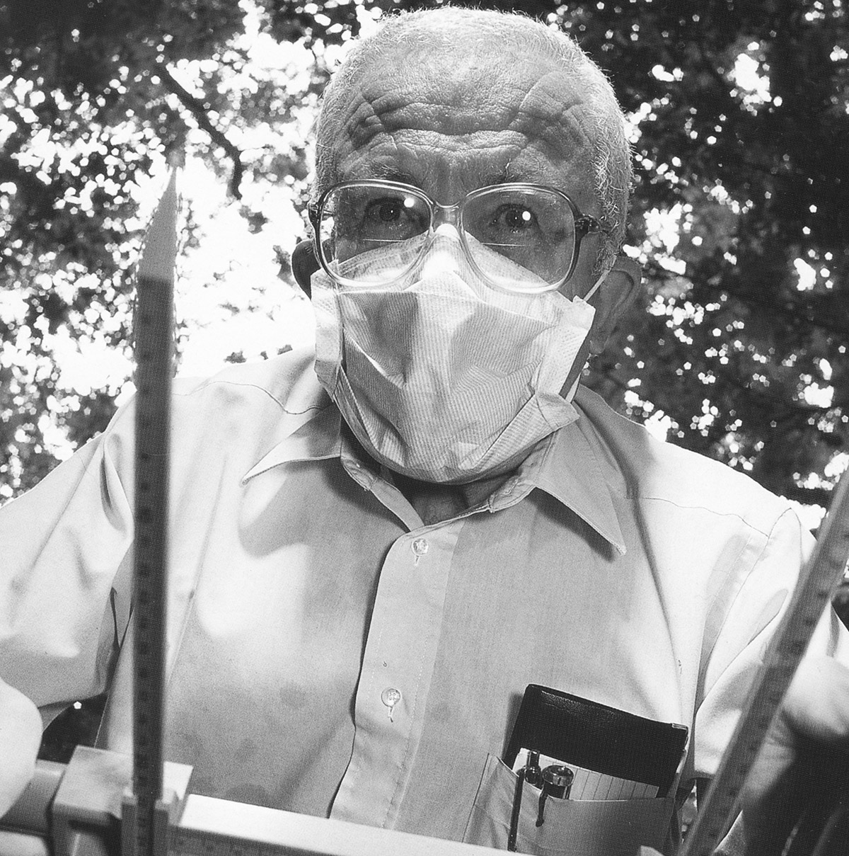 Dr. Bill Bass, forensic anthropologist