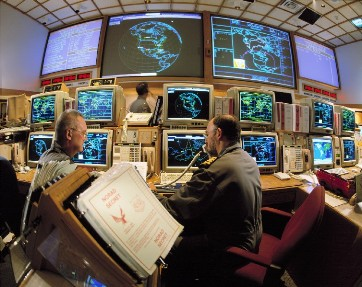 NORAD - Keeping an eye towards the sky to protect the United States.