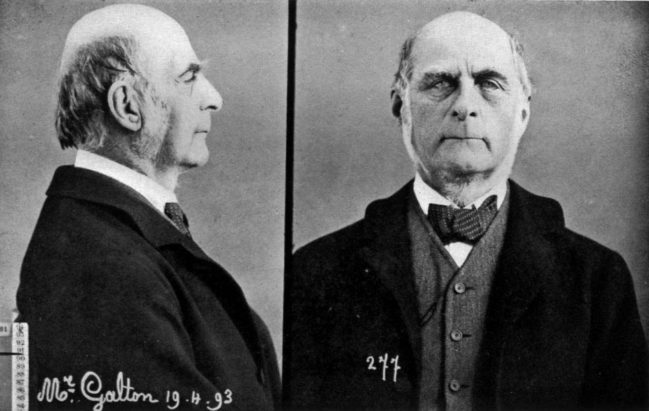 influence of sir francis galton on The british scientist francis galton was a first cousin of charles darwin and a brilliant, multi-faceted individual with wide-ranging interests.