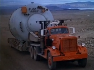 The nuclear reactor en route to Camp Century