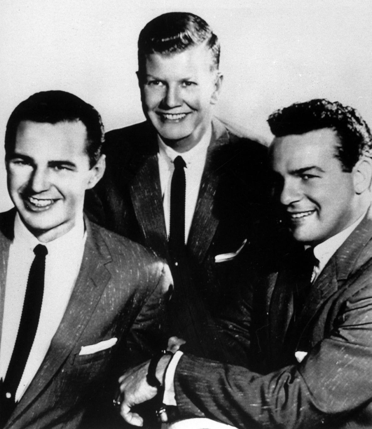 The Billy Tipton Trio, Tipton pictured center.