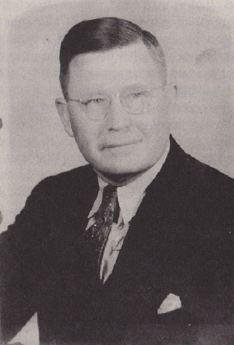 Sanders during his time as a tire salesman