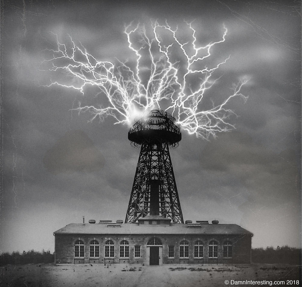 Tesla's Tower of Power • Damn Interesting