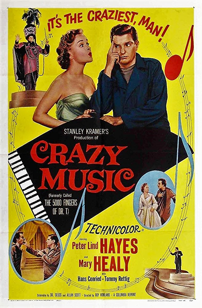 Movie poster for Crazy Music